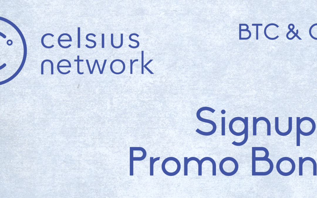Celsius.Network Rewards $US80 in BTC & CEL