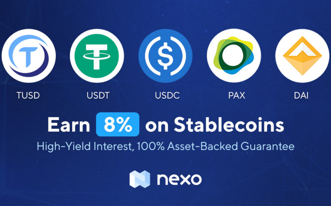 Earn Interest with Crypto Stablecoins on Nexo