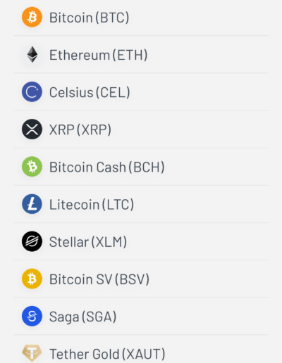 Celsius Currencies to Buy