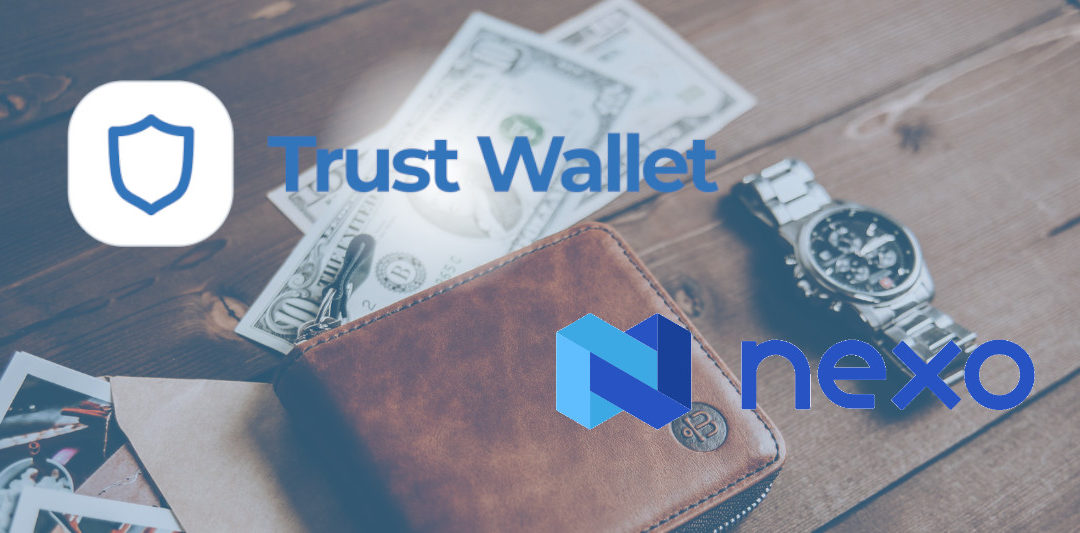 Smart Crypto Income Trust Wallet to buy Nexo token