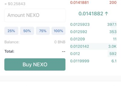 Trust Wallet NEXO Exchange